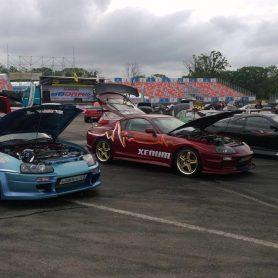 Автомобиль Xenum – участник первого JDM Фестиваля во Владивостоке.